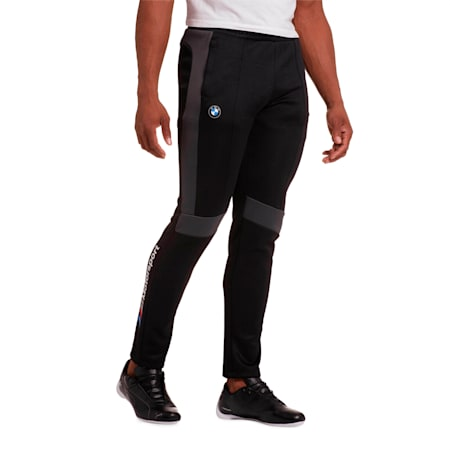 BMW M Motorsport Men's T7 Track Pants, Puma Black, small