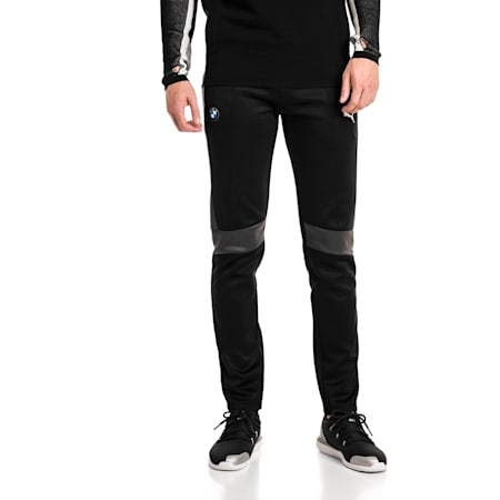 BMW Motorsport T7 Men's Track Pants, Puma Black, small-SEA