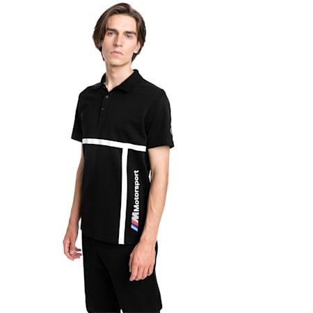 BMW Motorsport Men's Polo Shirt, Puma Black, small-SEA