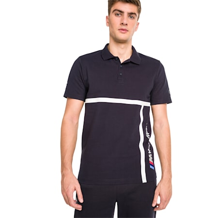 BMW Motorsport Men's Polo Shirt, Team Blue, small-SEA
