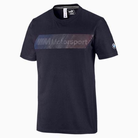 BMW M Motorsport Logo Men's Tee, Team Blue, small-SEA
