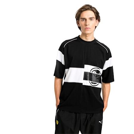 Camiseta Scuderia Ferrari Street para hombre, Puma Black, pequeño