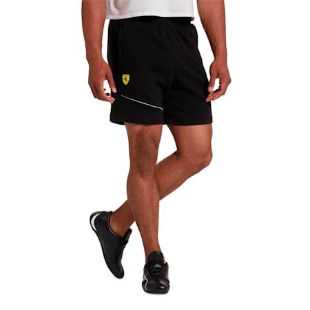 Scuderia Ferrari Men's Sweat Shorts, Puma Black, small