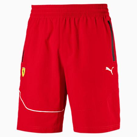 Scuderia Ferrari Men's Summer Shorts, Rosso Corsa, small
