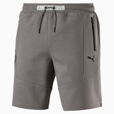 Strikkede Ferrari-shorts til mænd, Charcoal Gray, small