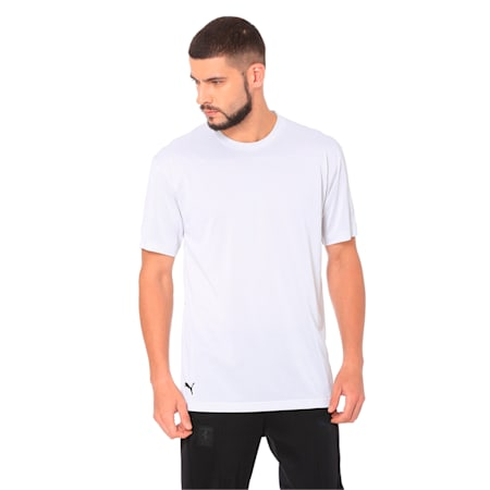 Ferrari Summer T-Shirt, Puma White, small-IND