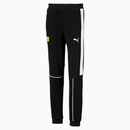 Ferrari Knitted Kids' Sweat Pants, Puma Black, small-SEA