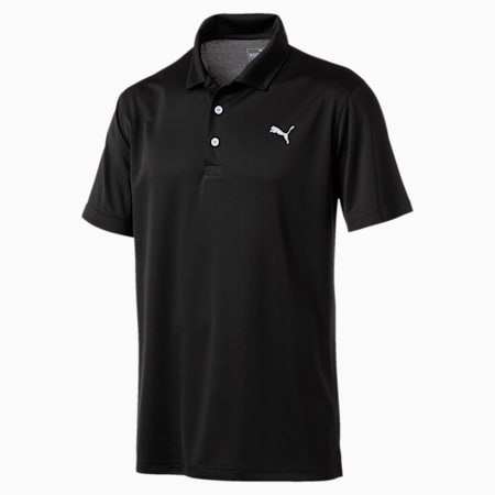Rotation dryCELL Men's Golf Polo, Puma Black, small-IND