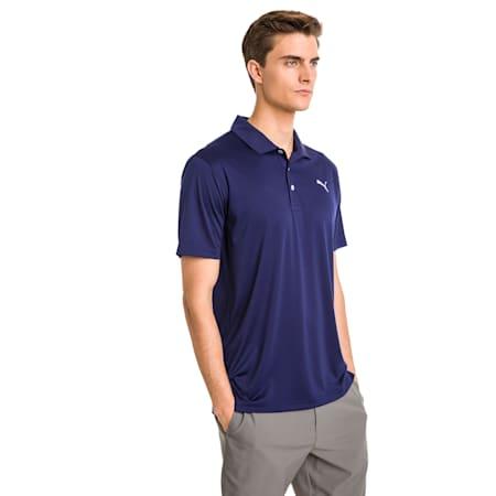Polo de golf Rotation pour homme, Peacoat, small