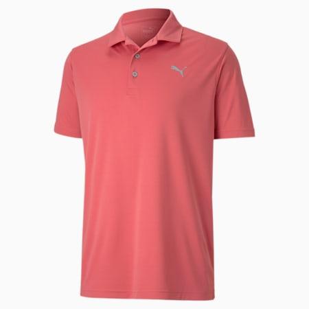 Rotation-golfpolo til mænd, Rapture Rose, small