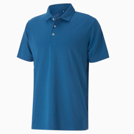 Rotation Men's Golf Polo, Star Sapphire, small-GBR