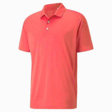 Meska golfowa koszulka polo Rotation, Georgia Peach, small