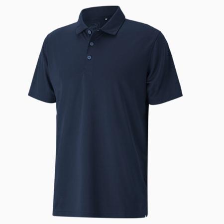 Polo Rotation Golf pour homme, Navy Blazer, small