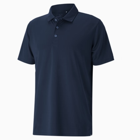 Rotation Men's Golf Polo, Navy Blazer, small