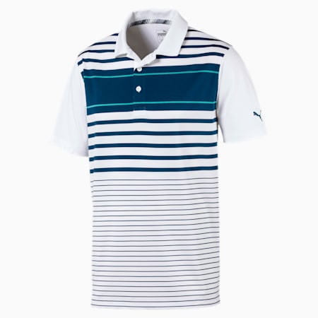 Camiseta tipo polo Spotlight para hombre, Gibraltar Sea-Blue Turquoise, pequeño