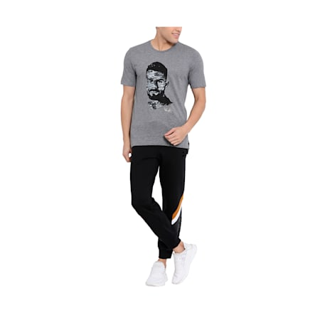 PUMA x Virat Kohli Stylised Men's Polo T- Shirt, Medium Gray Heather, small-IND