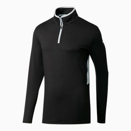 Rotation Men's 1/4 Zip Pullover, Puma Black, small