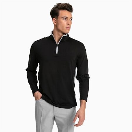 Pull de golf Rotation 1/4 Zip pour homme, Puma Black, small
