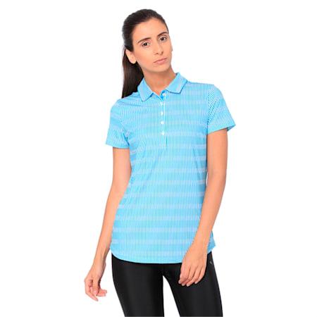 Forward Tees Women's Golf Polo, Caribbean Sea, small-IND