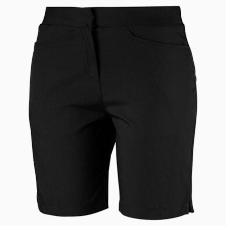 Pounce Bermuda Women's Golf Shorts, Puma Black, small-GBR