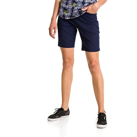 Pounce Bermuda Women's Golf Shorts, Peacoat, small