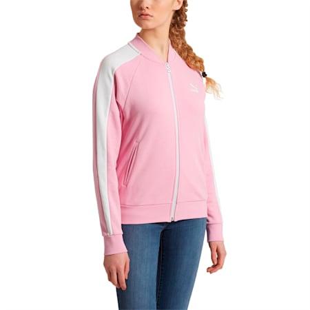 Classics T7 Women's Track Jacket, Pale Pink, small-SEA