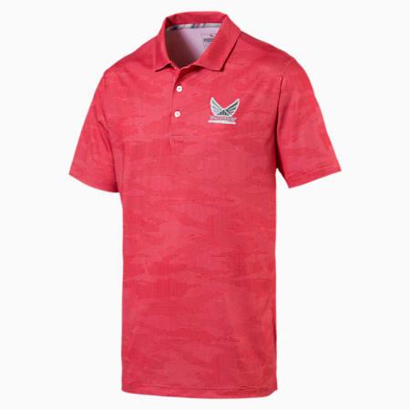 Camiseta tipo polo exclusiva Volition para hombre, High Risk Red, pequeño
