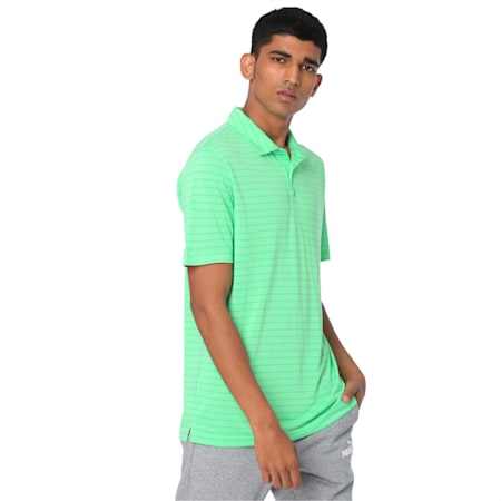 dryCELL Rotation Stripe Polo, Irish Green, small-IND