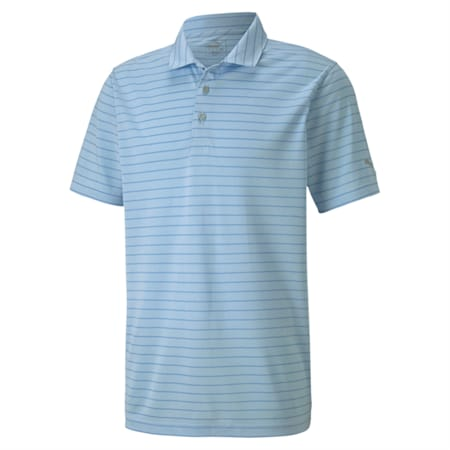 dryCELL Rotation Stripe Polo, Blue Bell, small-IND