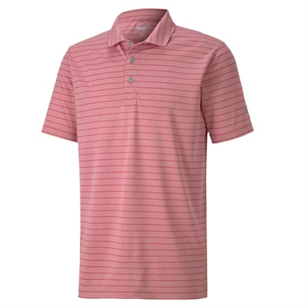dryCELL Rotation Stripe Polo, Rapture Rose, small-IND