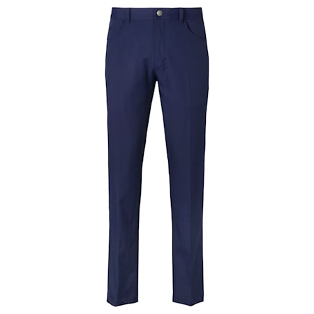 Jackpot 5 Pocket Men's Golf Pants, Peacoat, small-SEA