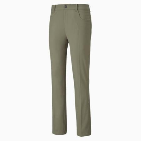 Jackpot 5 Pocket Herren Gewebte Golf Hose, Deep Lichen Green, small