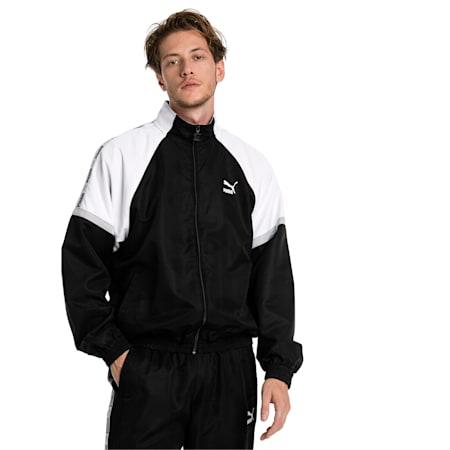 XTG Woven Men's Jacket, Puma Black-Puma white, small-IND