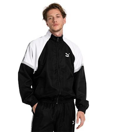 XTG Woven Men's Jacket, Puma Black-Puma white, small-SEA