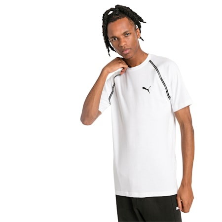 Epoch Short Sleeve Men's Tee, Puma White, small-SEA