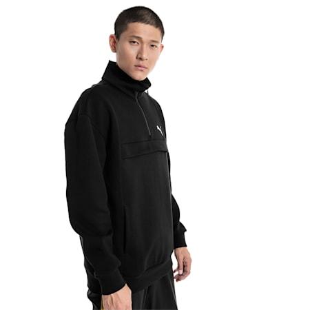 Epoch Savannah Men's Sweater, Cotton Black, small