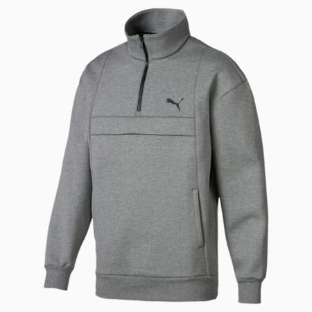 Epoch Savannah Herren Sweatshirt, Medium Gray Heather, small