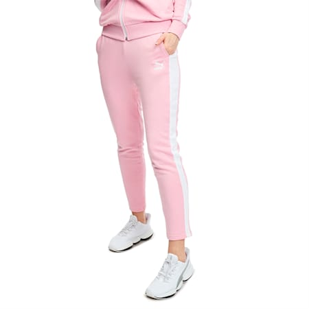 Classics T7 Women's Track Pants, Pale Pink, small-IND