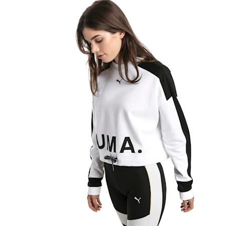 Bluza damska Chase, Puma White, small