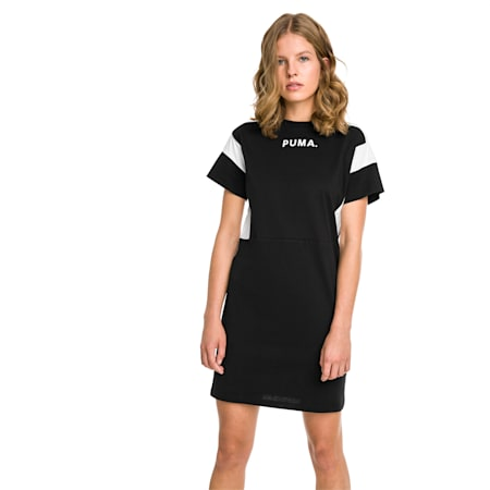Chase Women's Dress, Cotton Black, small