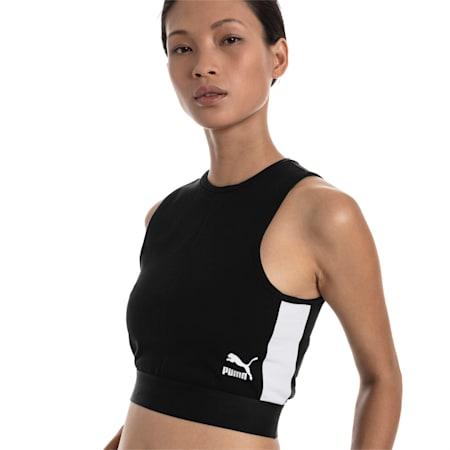 XTG Cropped Women's Top, Puma Black, small-SEA