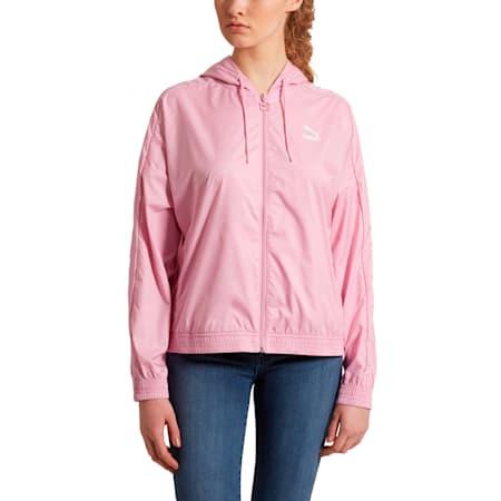 Classics Women's Windbreaker, Pale Pink, small