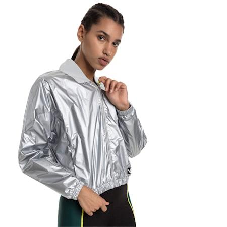 Trailblazer Women's Track Jacket, Puma White, small-SEA