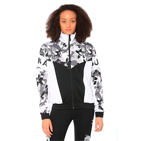 XTG 94 Women's Track Jacket, Puma Black, small-IND