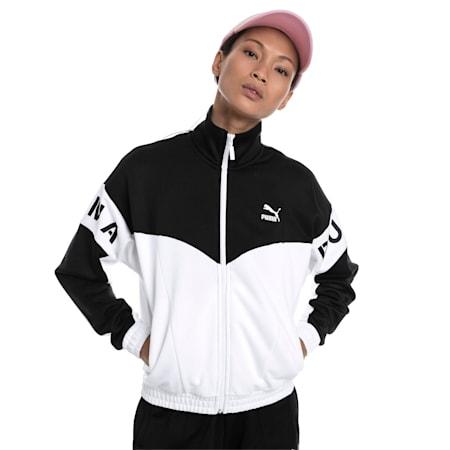 PUMA XTG 94 Women's Track Jacket, Puma White, small