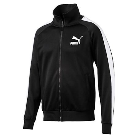 Iconic T7 PT Men's Track Jacket, Puma Black, small-SEA