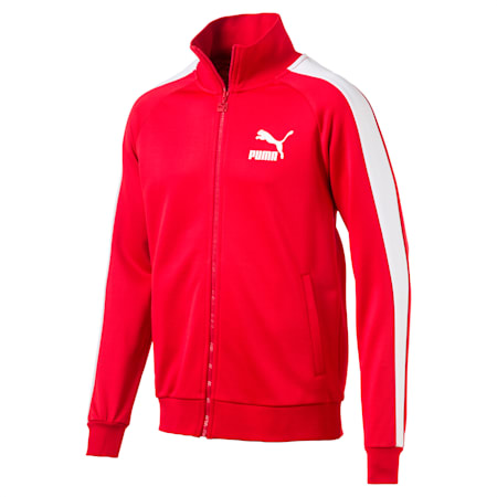 Iconic T7 PT Men's Track Jacket, High Risk Red, small-SEA