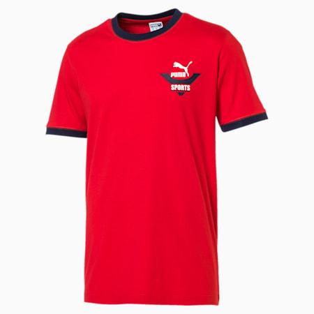 XTG Graphic Rib Men's Tee, High Risk Red, small-SEA