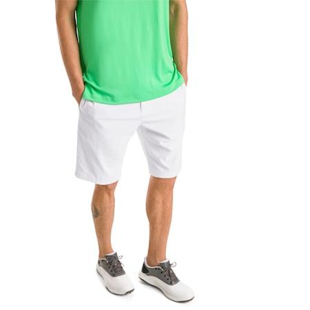 Jackpot Men's Golf Shorts, Bright White, small-SEA