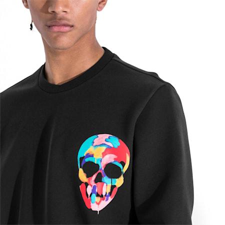PUMA x BRADLEY THEODORE Men's Sweater, Puma Black, small-SEA